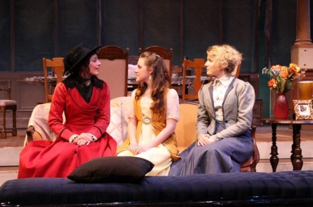 """Olga in """"Three Sisters"""""""