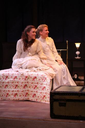 "Olga in ""Three Sisters"", SUNY New Paltz, 2011"