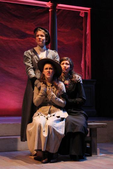 "Olga in ""Three Sisters"", SUNY New Paltz, 2011"