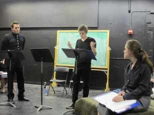 """April to April"" (now titled ""Tinted Red"") as staged reading at SUNY New Paltz- Directed by Adam Harrison"