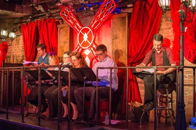 "Reading of ""The Deceitful Dancer Fantastically Surprises the Boisterous Twilight"" at Confetti Stage Gala 2015- Directed by Nate Beynon"