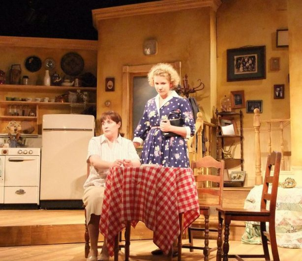 """Chick in """"Crimes of the Heart"""" at Curtain Call Theatre (Latham, NY), 2012"""