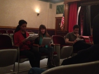 """Homefront"" in Confetti Fest 8- Directed by David DiPaola (Rehearsal)"