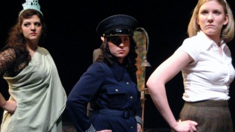 """Innocent Teen in """"Reefer Madness!: The New 'Hit' Musical"""" with Paper Rain Laboratory Theatre (New Paltz, NY), 2009"""