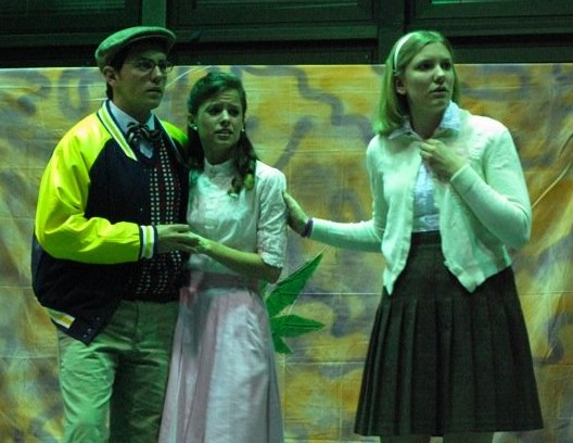 """Innocent Teen in """"Reefer Madness!: The New 'Hit' Musical"""" with Paper Rain Laboratory Theatre (New Paltz, NY)"""