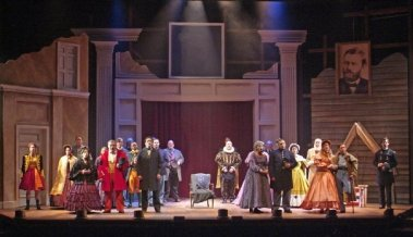 "Hometown Girl in ""Reunion: A Musical Epic in Miniature""- Directed by Ron Holgate"