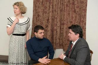 """Julie Mercier in Marty Egan's """"The Beast"""" (World Premiere), 2013"""