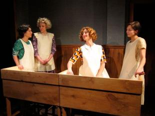 """Pearl in """"These Shining Lives"""" at Curtain Call Theatre (Latham, NY)"""