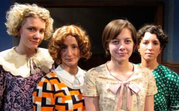 """Pearl in """"These Shining Lives"""" at Curtain Call Theatre (Latham, NY), 2013"""