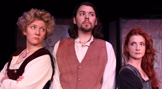 """""""The Dog in the Manger"""" with NorthEast Theatre Ensemble- directed by Kendle Butterworth- June 2016"""