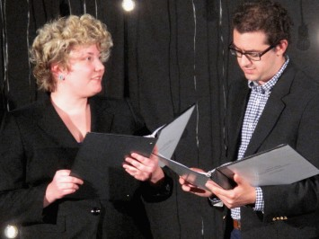 "Henrietta Leavitt in ""Silent Sky"" with PolySci Theatre, September 2018"