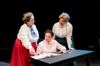 "Henrietta Leavitt in ""Silent Sky"" with Schenectady Civic Players, July 2019"